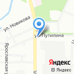 Компания по продаже пенопласта на карте Воронежа