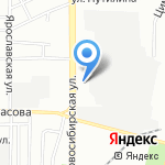 Адажио на карте Воронежа