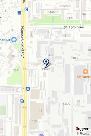 Левша на карте Воронежа