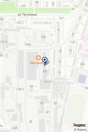 ФАТОН на карте Воронежа