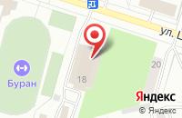 Схема проезда до компании Торговый Дом Радан в Воронеже