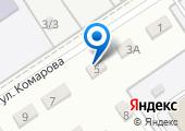 Магазин детского питания на ул. Комарова (Диснкая) на карте