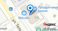 Компания ТЭКТ на карте