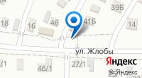 Компания Автомойка на ул. Жлобы (Динская) на карте