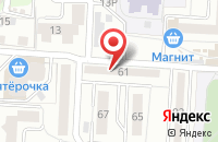 Схема проезда до компании Вавилон в Воронеже