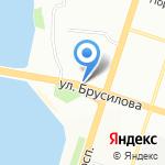 Киоск по продаже лотерейных билетов на карте Воронежа
