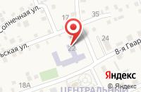 Схема проезда до компании Средняя общеобразовательная школа №12 в Георгиевском