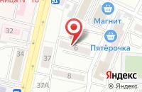 Схема проезда до компании Строймонтаж в Воронеже