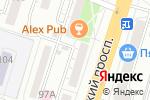 Схема проезда до компании Лента в Воронеже