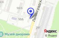 Схема проезда до компании СТРОИТЕЛЬНО-МОНТАЖНАЯ ФИРМА МОСТОТРЯД №81 в Воронеже