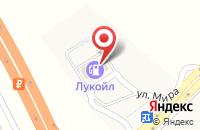 Схема проезда до компании ЛУКОЙЛ в Чертовицах