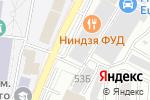 Схема проезда до компании Мегаполис в Воронеже