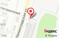 Схема проезда до компании Галактика в Воронеже