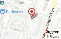 Схема проезда до компании Страховая организация в Подольске