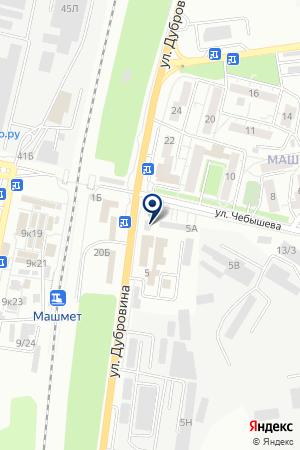 ГРУЗОПЕРЕВОЗЧИК на карте Воронежа