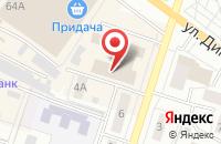 Схема проезда до компании Бальд в Воронеже