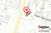 Схема проезда до компании Российские цветы в Подольске