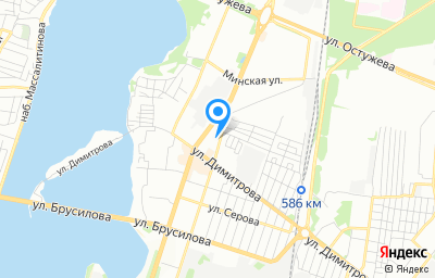 Местоположение на карте пункта техосмотра по адресу г Воронеж, ул Ленинградская, д 2А