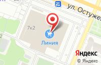 Схема проезда до компании Перспектива в Воронеже