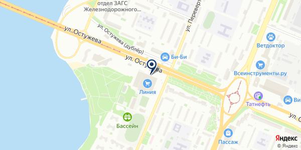 ЮНИСТРИМ на карте Воронеже