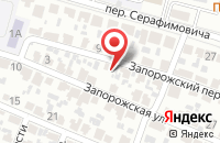 Схема проезда до компании Роза в Воронеже