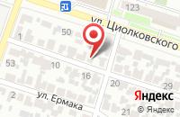 Схема проезда до компании Нави в Воронеже