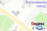 Схема проезда до компании Инглавстрах в Воронеже