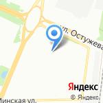 Гимназия №9 на карте Воронежа