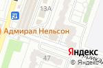 Схема проезда до компании Телеком-Сервис в Воронеже