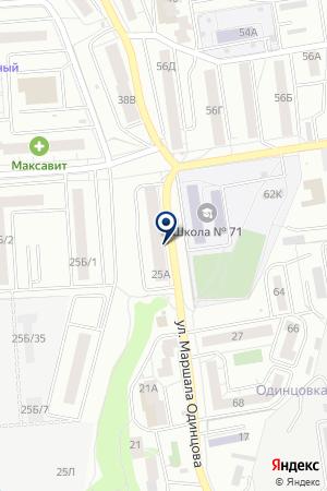 ЦентрТорг на карте Воронежа