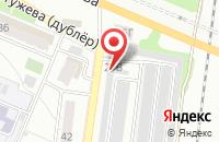 Схема проезда до компании Рубин-1 Остужева в Воронеже