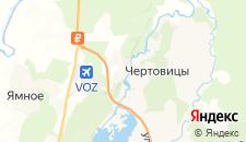 Отели города Чертовицы на карте