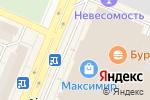 Схема проезда до компании Route 66 в Воронеже