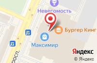 Схема проезда до компании Mann Group в Воронеже