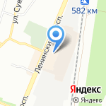Джинс Сити на карте Воронежа