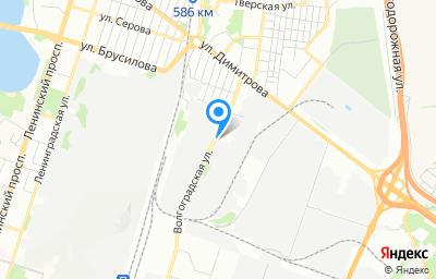Местоположение на карте пункта техосмотра по адресу г Воронеж, ул Волгоградская, д 39