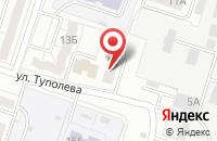 Схема проезда до компании Альфа Миг в Воронеже