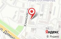 Схема проезда до компании Фея в Воронеже