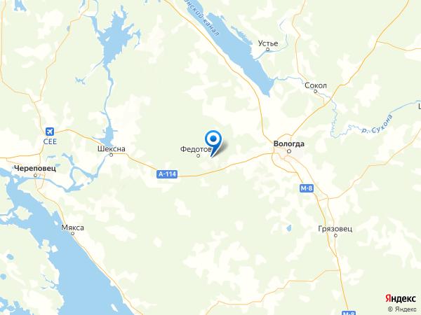деревня Игнатово на карте