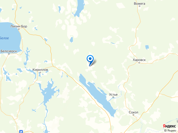 село Бережное на карте