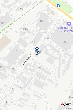 Промснаб на карте Воронежа