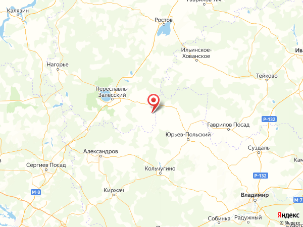 деревня Горки на карте