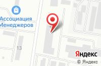 Схема проезда до компании Эльф в Воронеже