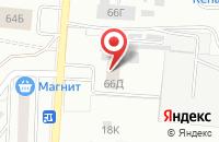 Схема проезда до компании Санал в Воронеже