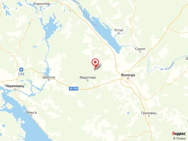 село Большое на карте