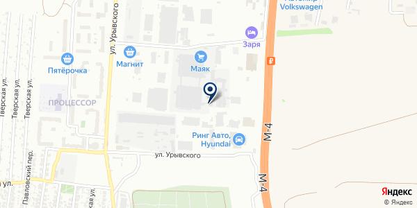 Пэтзавод на карте Воронеже