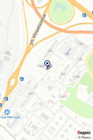 Участковый пункт полиции №34а на карте Воронежа