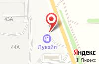 Схема проезда до компании Лукойл в Воронежском совхозе