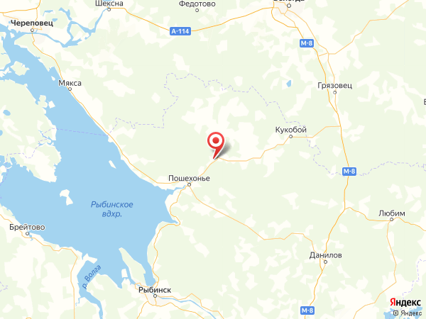 деревня Бабка на карте