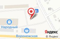 Схема проезда до компании Универсальный рынок Репный в Отрадном